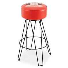 Paul Frank Barstool Red by Paul Frank