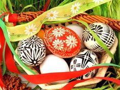 Pisanka Decorated Easter Eggs