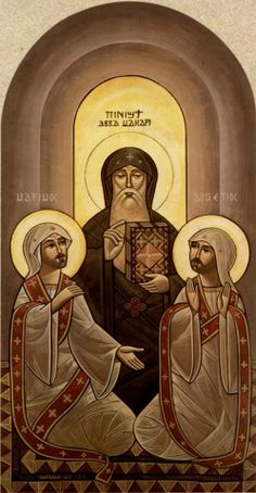 st.maximous and st.domadious, abba macarious