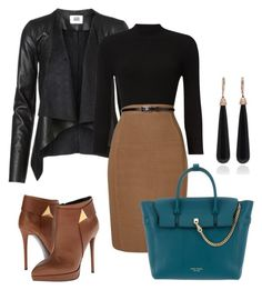 """Office"" by natalia-souza-ramos on Polyvore featuring Phase Eight, Giuseppe Zanotti, Henri Bendel and SUSAN FOSTER"