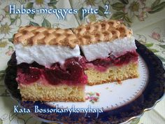 Habos-meggyes pite (Gluténmentesen is) Hungarian Recipes, Cheesecake, Tiramisu, Ethnic Recipes, Food, Cheesecakes, Essen, Meals, Tiramisu Cake