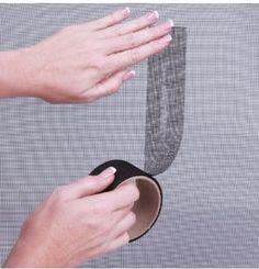 Window screen tape! Get it here.