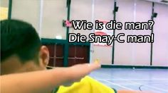 Wie is die man? Is die Snay-C man! - YouTube
