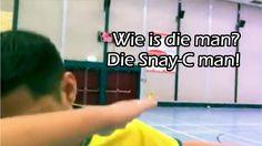 Wie is die man? Is die Snay-C man! - YouTube