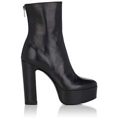 c8e30f75d Barneys New York Women s Leather Platform Ankle Boots ( 495) ❤ liked on Polyvore  featuring