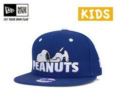 ニューエラ×ピーナッツキッズスナップバックキャップスヌーピーライトロイヤル帽子NEWERA×PEANUTSKIDS9FIFTYSNAPBACKCAPSNOOPYLIGHTROYAL[キャップneweracapニューエラキャップ子供用小さいサイズメンズレディース][BU]#KD