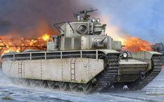 Heavy tank T-35 / Czołg ciężki T-35