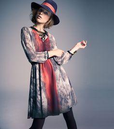 Pin & Win! Fierce print #ninewest #dress #macysfallstyle BUY NOW!