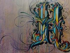 graffiti... I want to frame this in a huge traditional frame and hang it on my wall