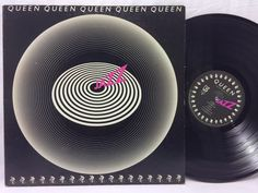 Queen Jazz Vinyl 6E-166 LP 1978 Elektra LP #Vinyl Record