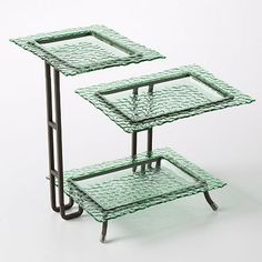 Bobby Flay Hammered 3-Tier Serving Rack