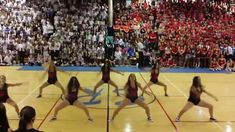 SRHS Dance Team Homecoming Pep Rally 2015 ***lots of butt shaking and hair flipping***