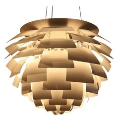 PH Artichoke Light by Poul Henningsen | From a unique collection of antique and modern chandeliers and pendants  at https://www.1stdibs.com/furniture/lighting/chandeliers-pendant-lights/