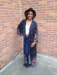 Kimono and Crop top