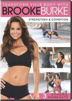 Brooke Burkes Workout DVDs fitness