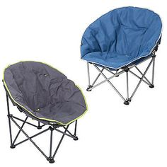 #Summit Orca Camping #chair With #carry Bag   Bucket Moon Style Padded Fold