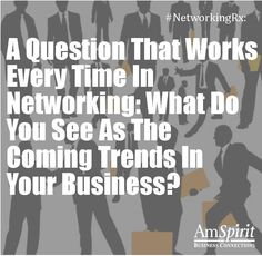 #NetworkingRx: What are some trends in your industry?