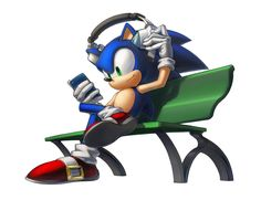 Sonic by inualet on deviantART
