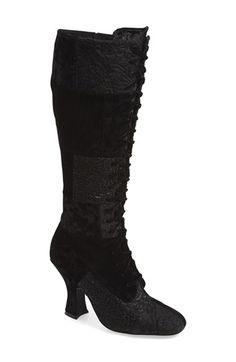 Delicious velvet Jeffrey Campbell boots