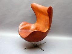 Egg by Arne Jacobsen (1950s)