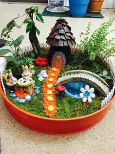 Fairy Garden accessories grab bag, Deluxe Bag, Miniature garden, T… Fairy Garden Pots, Indoor Fairy Gardens, Fairy Garden Furniture, Dish Garden, Garden Terrarium, Fairy Garden Houses, Miniature Fairy Gardens, Garden Art, Garden Kids
