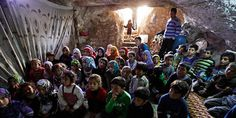 School In A Cave Gives Syrian Children A Safe Learning Environment