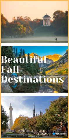 Incredible destinations to visit this fall