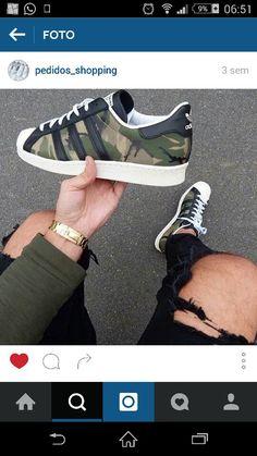 new product 4b6e3 9ad05 Superstar militar negro Calzado Adidas, Calzado De Moda, Zapatillas Adidas,  Zapatillas Deportivas,