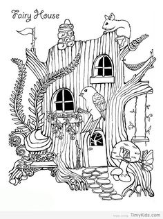 mansion coloring pages.html