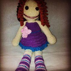 A crochet doll by me.... :)