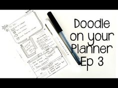 ▶ Doodle on your Planner : Episode 3 - YouTube