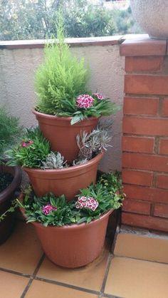 Macetas jardín