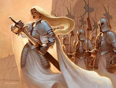 Captain of the Guard by alexstoneart.deviantart.com on @deviantART