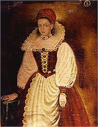 """Blood Countess"" Elizabeth Báthory (7 August 1560 – 21 August 1614)"