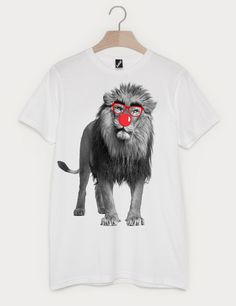 Batch1 Comic Relief Red Nose Day Funny Elephant Children/'s Charity T-Shirt