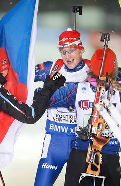 GALERIE: Moravec dojížděl pro zlato, Soukalová telefonovala: Volala jsem domů | FOTO 1 | iSport.cz