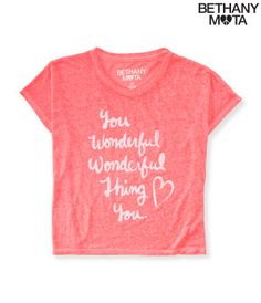 Wonderful Thing Crop Boxy Top