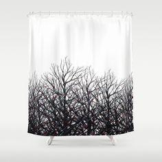 Black Tree Shower Curtain - Best Selection in Town! Tree Shower Curtains, Black Tree, Beams, Classy, Curtain Designs, Elegant, Unique, Artwork, Beautiful