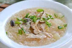 Chicken Sotanghon Soup (Filipino Style Chicken Bean Thread Noodle Soup)