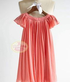❀ Welcome to MonbebeLagos Handmade dress shop ❀ The MonbebeLagos Dress is a pure handmade dress.Simple ruffle cap sleeves looks more lovely.Pleated
