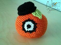 Amigurumi patrón gratis: naranja mecánica. Noagurumis