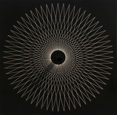 Yvaral (Jean-Pierre Vasarely) - Interference C | From a unique collection of abstract sculptures at http://www.1stdibs.com/art/sculptures/abstract-sculptures/