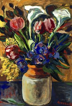 ALBIN ALBELIN Flower Still Life