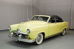 1951 Frazer Manhattan Convertible..Re-pin Brought to you by #HouseofInsurance for #CarInsurance Eugene, Oregon