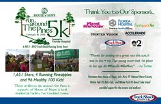 We had another great Run Around the Pines 5k! :)