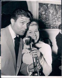 1948 At Filmland Party Actors Jim Davis & Doris Day