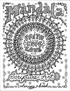 Religious mandala coloring pages on pinterest ~ FREE Coloring page Genie in a bottle | Adult Coloring ...