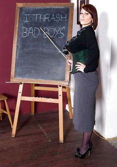 Women teachers spank boys stories