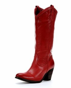 Women's Taylor Pull On Boot - Burnt Red
