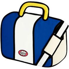 Jump From Paper Sober Bag (white / blue) JFP-018 - $79.99